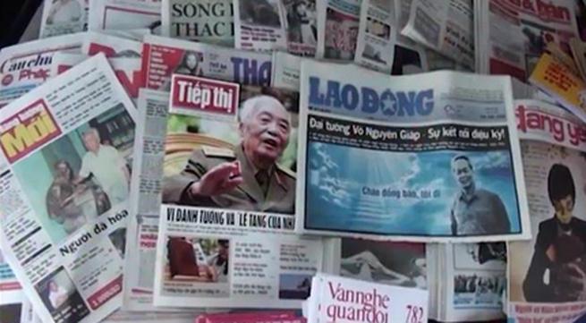 'Chấn động' - phim về sự ra đi của Tướng Giáp